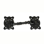 DEL-137420 Black Wrought Iron cabin hook