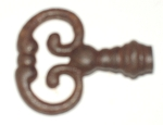 199RO False key for French Escutcheon plate