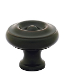 86115ORB Solid Brass Knob Oil Rub Bronze Finish