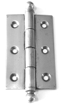 CI6001BT Ball top Steel cabinet hinge unfinished steel