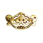 BB108PB Drawer Pull Polish cast Brass