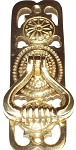 BB110 Cabinet door pull Polish brass