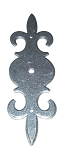5651-70SP French Escutcheon in Silver Patina or French pewter finish
