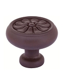 86096DB Tuscany bronze knob Deep Burgundy finish