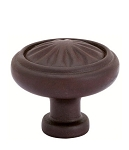 86116DB Tuscany cast Bronze knob Deep burgundy finish
