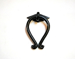 2006-2027 Wrought iron drop pull & rose
