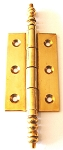 MP6003FF PB French cabinet hinge Polish brass