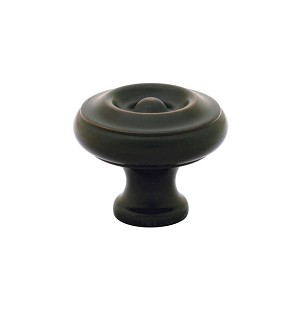 "86201ORB 1.75"" Brass Knob Oil Rub Bronze finish"